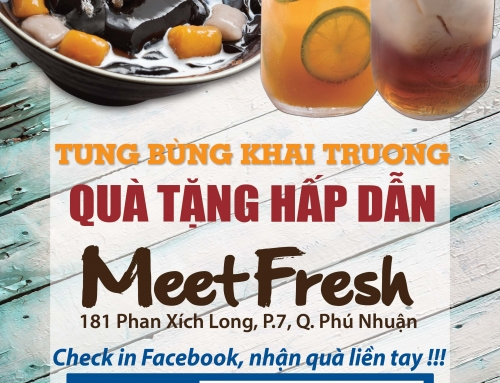 GRAND OPENING MEET FRESH 181 PHAN XÍCH LONG