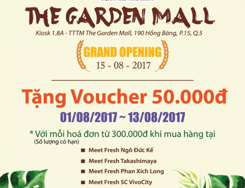 [ GRAND OPENING ] Meet Fresh The Garden Mall